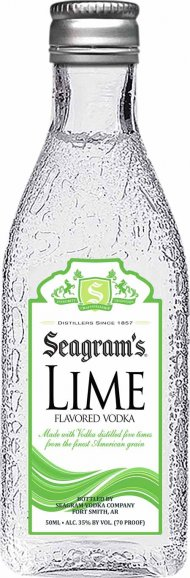 Seagrams Lime Vodka Mini