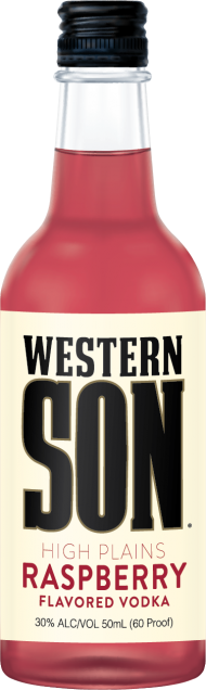 Western Son Raspberry Vodka Mini