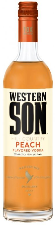 Western Son Peach Vodka