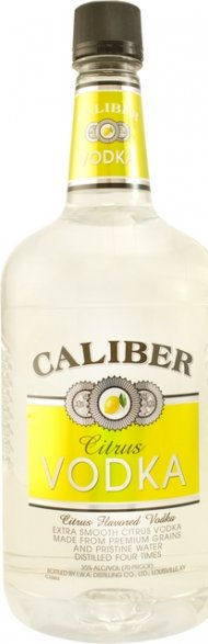 Caliber Citrus Vodka