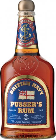 British Navy Pusser's Rum