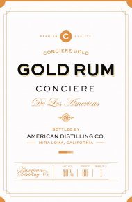 Conciere Gold Rum