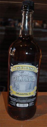 Wisconsin Club Gold Rum