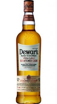 Dewar's White Label Scratched Cask