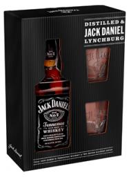 Jack Daniels w/2 Glasses