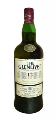 Glenlivet 12 Yr Malt Scotch
