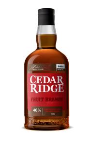 Cedar Ridge Fruit Brandy