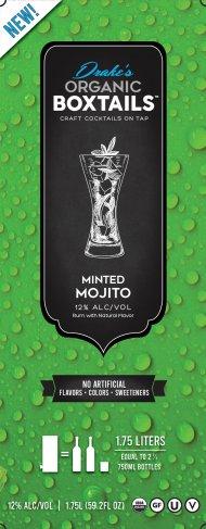 Drakes Organic Boxtails Minted Mojito