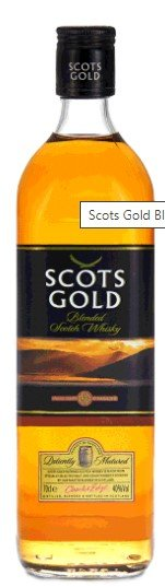 Scots Gold Blended Scotch Whisky Black Label