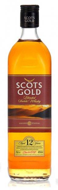 Scots Gold Blended Scotch Whisky Gold Label