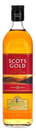 Scots Gold Blended Scotch Whisky Red Label