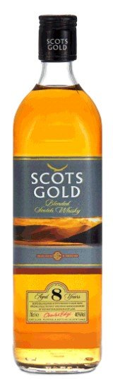 Scots Gold Blended Scotch Whisky 8YR