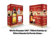 Kahlua w/Absolut 50ml & Glass