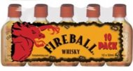 Fireball Cinnamon Whiskey 50ml Sleeve