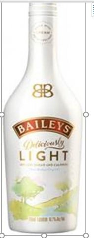 Baileys Deliciously Light