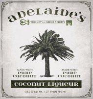 Adelaides Coconut Liqueur