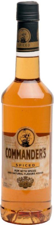 Commanders Spiced Rum