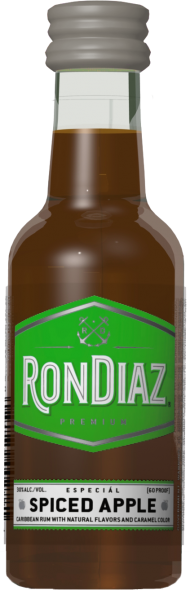 Rondiaz Rum Spiced Apple Mini