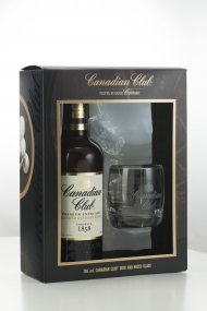 Canadian Club w/Glass