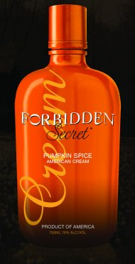Forbidden Secret Pumpkin Spice Liqueur