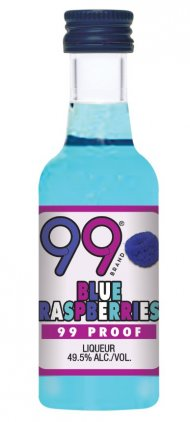 99 Blue Raspberries