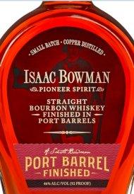 Issac Bowman Port Finished Bourbon