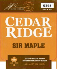 Cedar Ridge Sir Maple