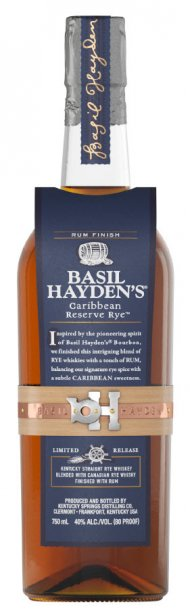 Basil Haydens Caribbean Rye