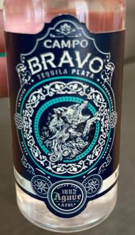 Campo Bravo Plata Tequila Mini