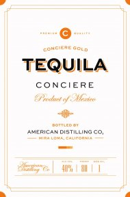 Conciere Gold Tequila