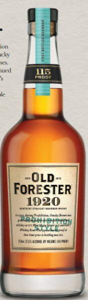 SOOH Old Forester 1920