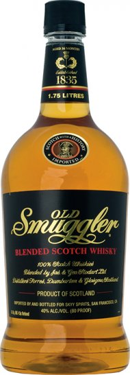 Old Smuggler Scotch PET